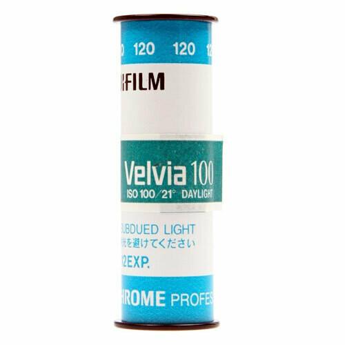 Fujifilm Velvia 100 120