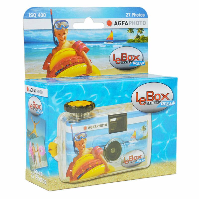 AgfaPhoto LeBox Ocean - одноразовый подводный фотоаапарат