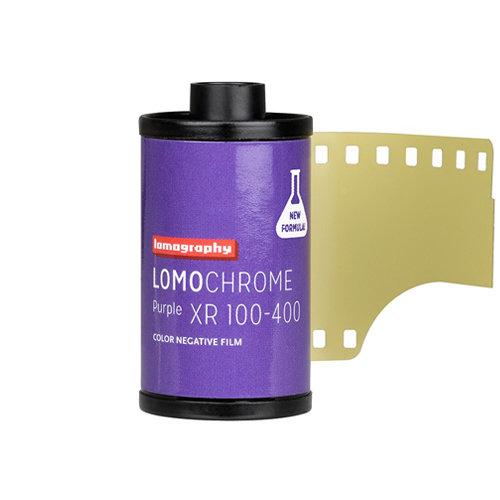 Lomography LomoChrome Purple XR 100-400 35mm NEW!