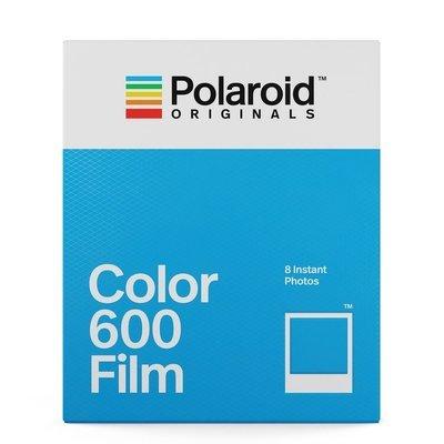 Кассета Polaroid Originals 600 Цветная / Белая рамка