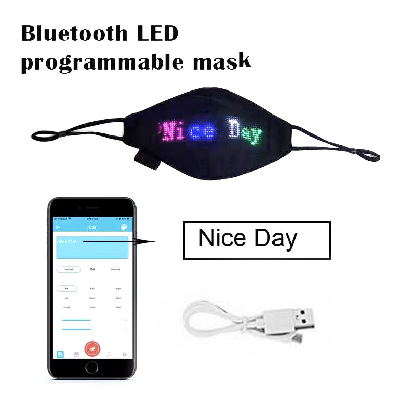 LED Light Up Masks - Shipping in the US