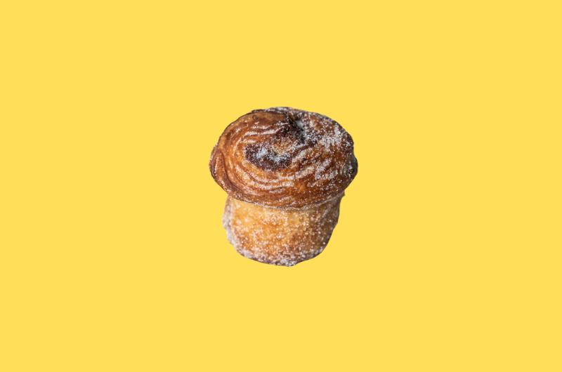 Cinnabomb crufin su citrusiniu cukrum ir cinamonu (Croissant x Muffin) 2 VNT.