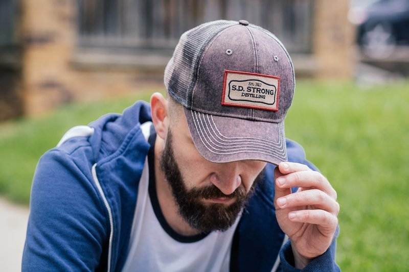 SD Strong Dirty Wash Trucker