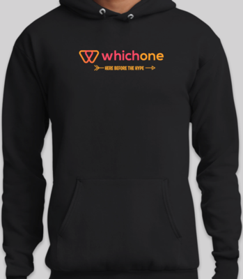 (Pre-Order) WhichOne Limited Edition Premium Black Hoodie