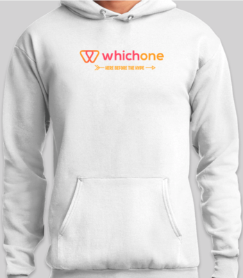 (Pre-Order) WhichOne Limited Edition Premium White Hoodie