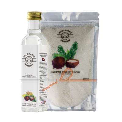 Cold Pressed Virgin Coconut Oil & Desiccated Coconut