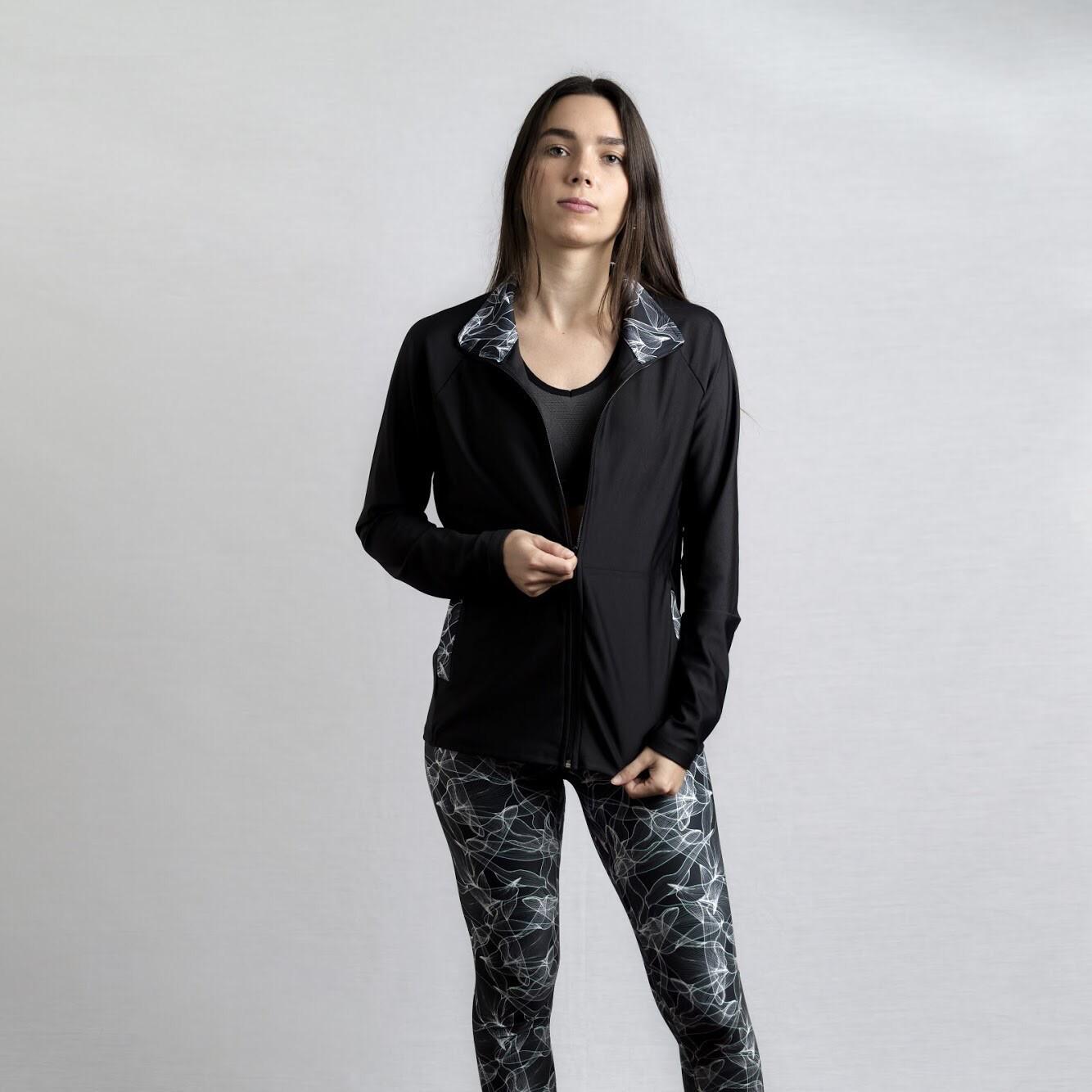 Jacket Flores ByN