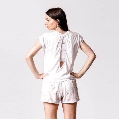 Blusa Blanca Traslapada