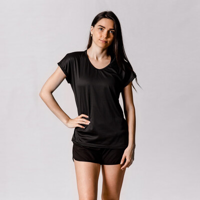 Blusa Negra Relaxed Fit