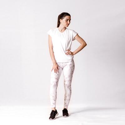 Blusa Blanca Relaxed Fit Con Secado Rápido