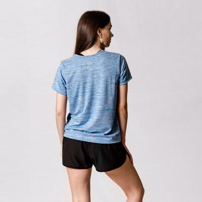Blusa Azul Mid Fit