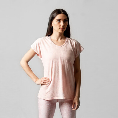 Blusa Pale Pink Relaxed Fit