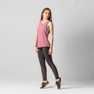 Tank Rosado Relaxed Fit