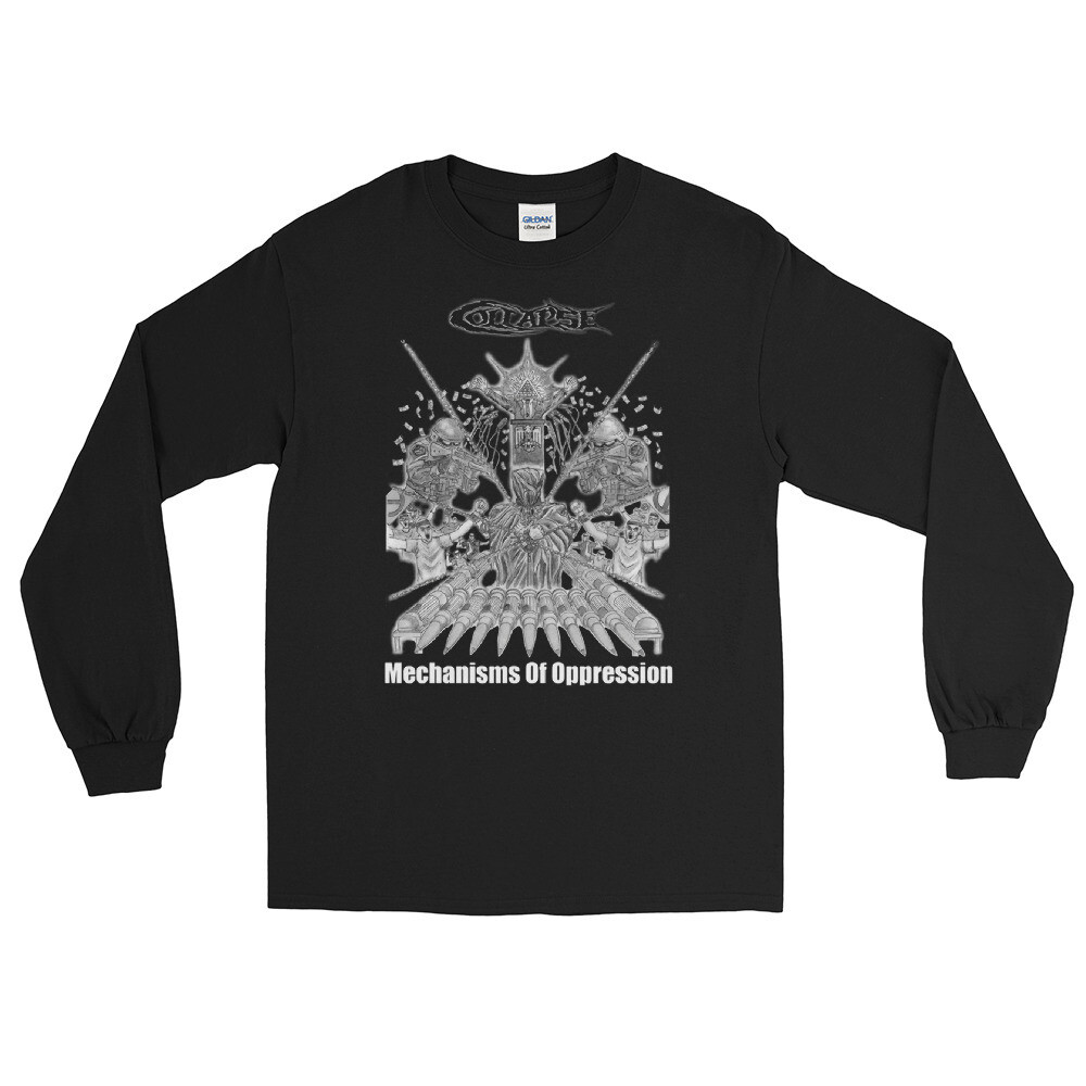 Collapse - Mechanisms Of Oppression - Long Sleeve T-shirt One Sided