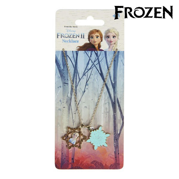 Girl's Necklace Frozen 71364 Golden