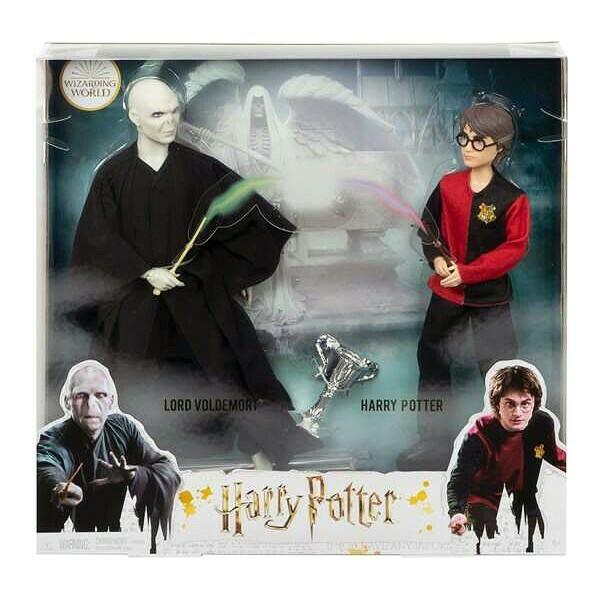 Set figurek Harry Potter vs Voldemort Mattel