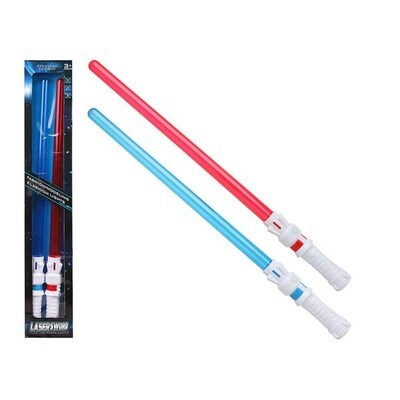 Laser Sword Blue Red 111537 (2 Uds)