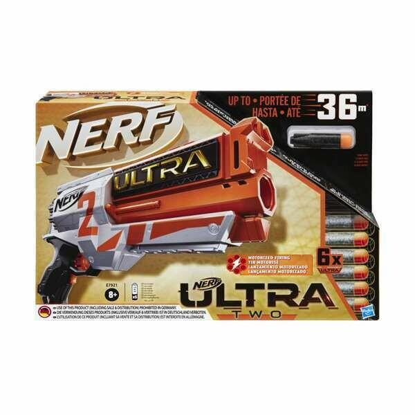 Pistola de Dardos Nerf Ultra Two Hasbro (36 m)