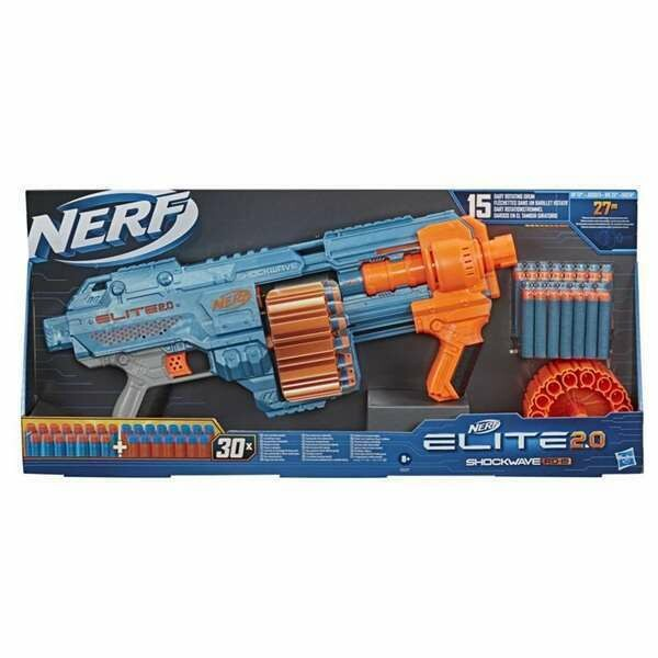 Gun Nerf Elite Shockwave RD-15 Hasbro