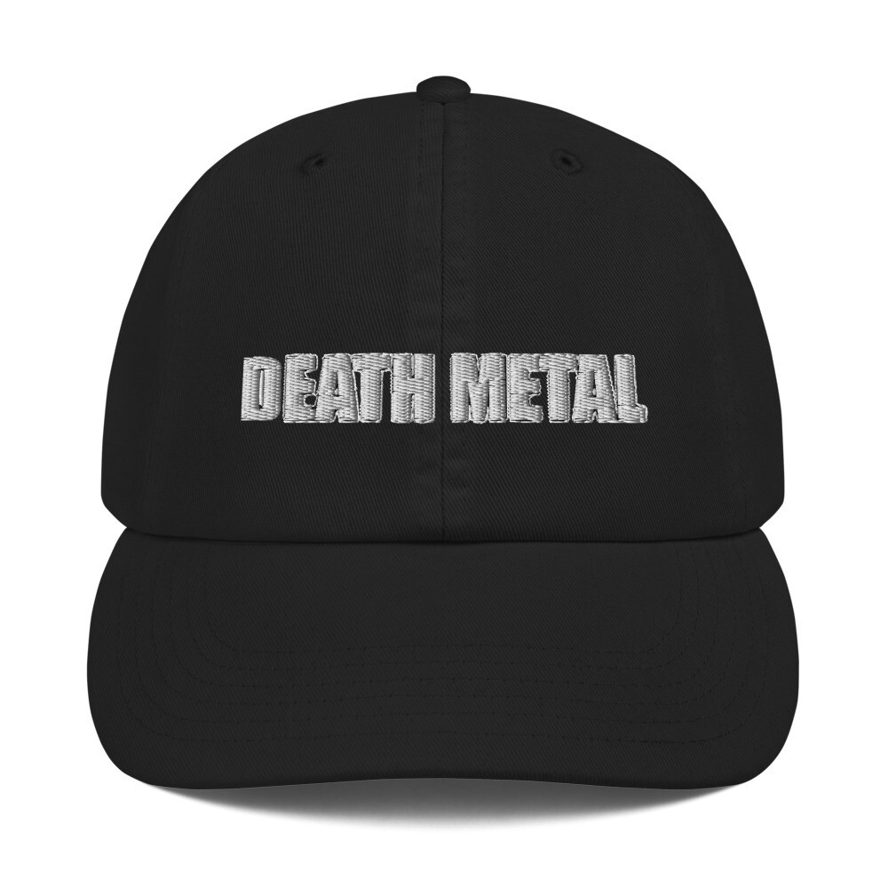 Death Metal Logo Hat