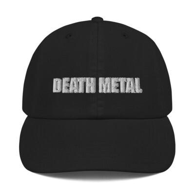 Death Metal Logo Hat - ***CANADA DAY SALE***