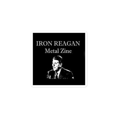 Iron Reagan 'Zine -  Sticker