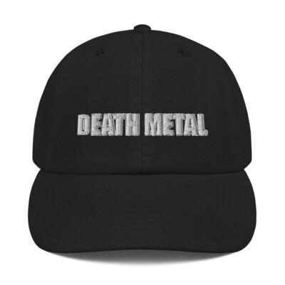 Death Metal Logo Hat