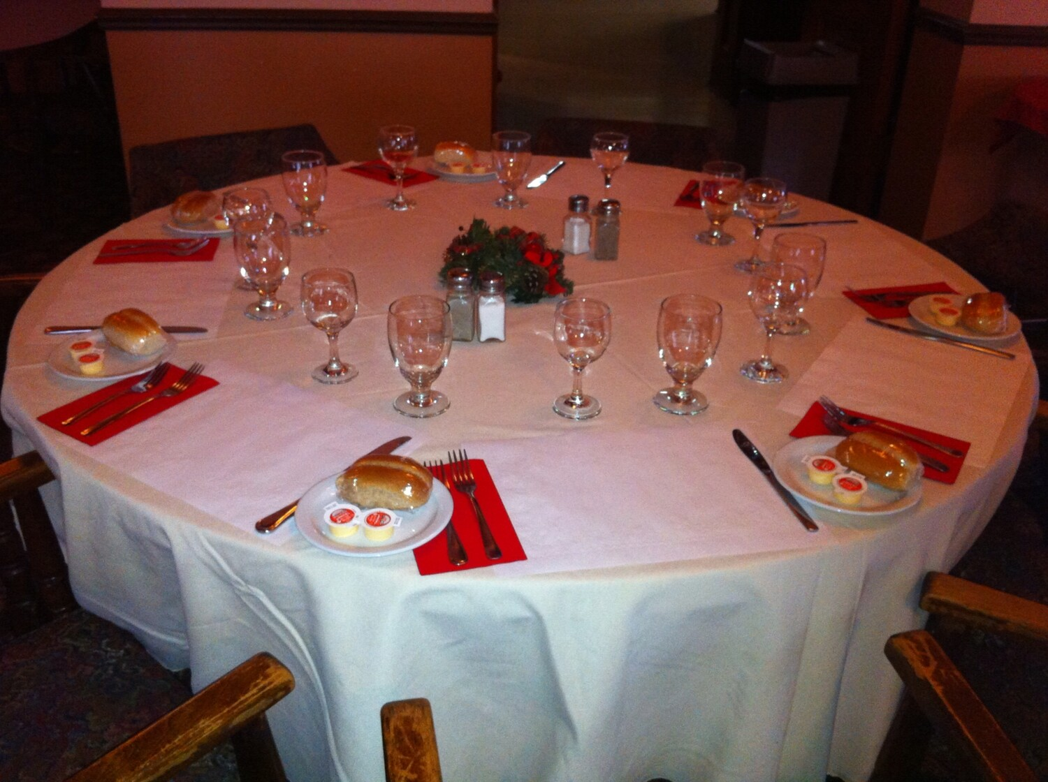 In house catering - Full Service Entrees - Additional hall rental fees apply