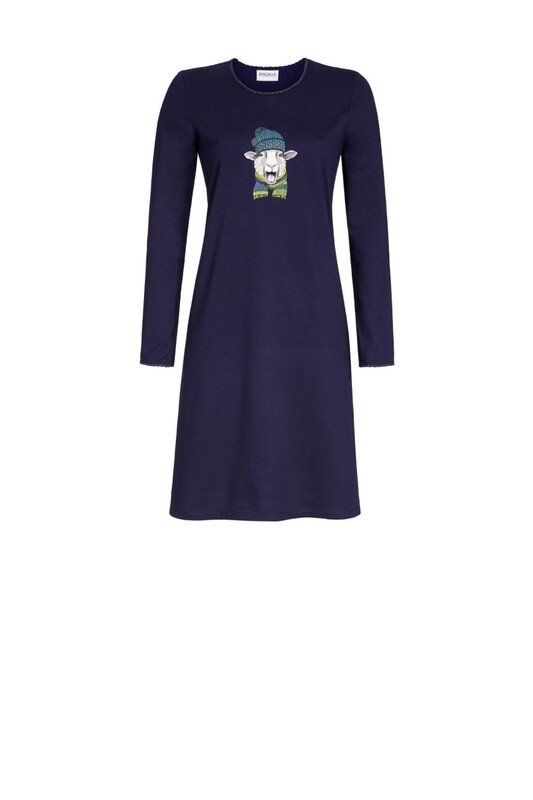 Nachthemd 0511023w20 Navy Ringella Women