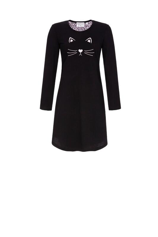 Nachthemd 0561020w20 Zwart Ringella