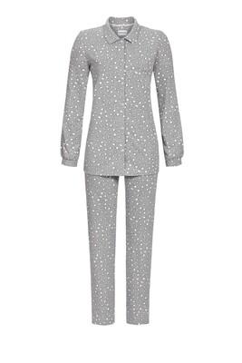Doorknoop pyjama 0511210w20 Grey Melange Ringella