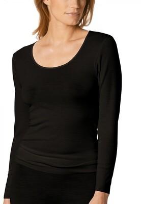 Shirt 66577b02 Zwart Mey Exquisite
