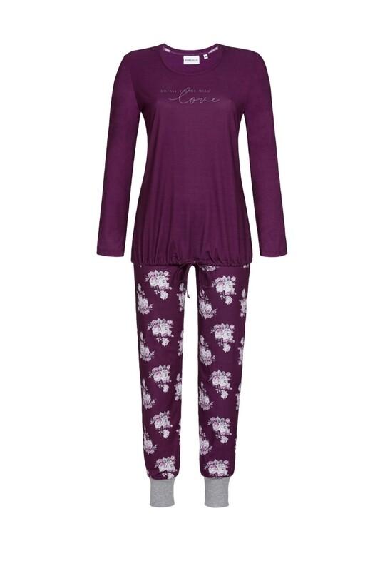 Pyjama 0511214P Bordeaux Ringella Women