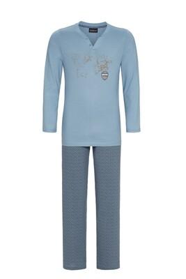 Heren pyjama 0541203P Asia Blue Ringella
