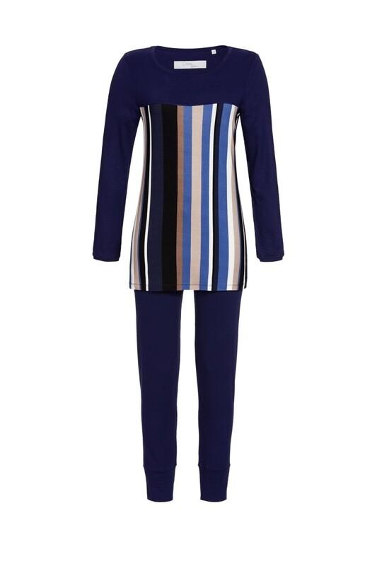 Pyjama 0571202P Nachtblau Ringella Cherie Line