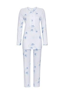 Doorknoop pyjama 0511221 Bleu Ringella Women