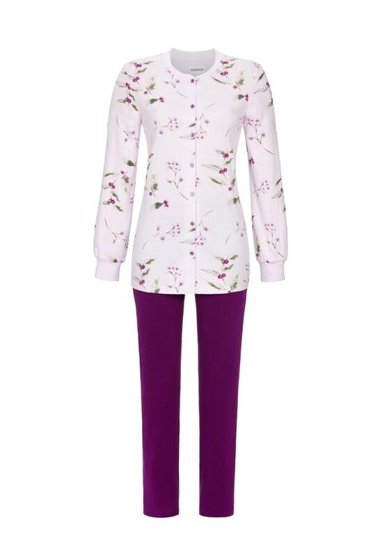 Doorknoop pyjama 0511245 Orchidee Ringella Women