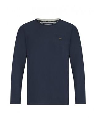 Men T-shirt D37181-39 Navy Charlie Choe