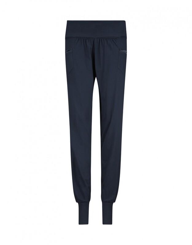 Women harem pants D37115-38 Navy Charlie Choe