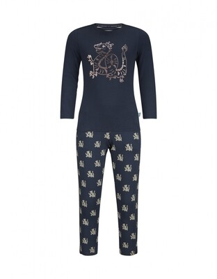 Girls homewear set D37034-41 Navy Charlie Choe