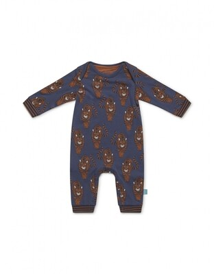 Baby jumpsuit long sleeve D37050-42 Mid Blue Charlie Choe