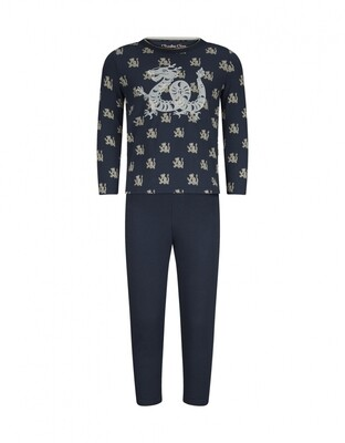 Boys pyjama set D37073-42 Navy Charlie Choe