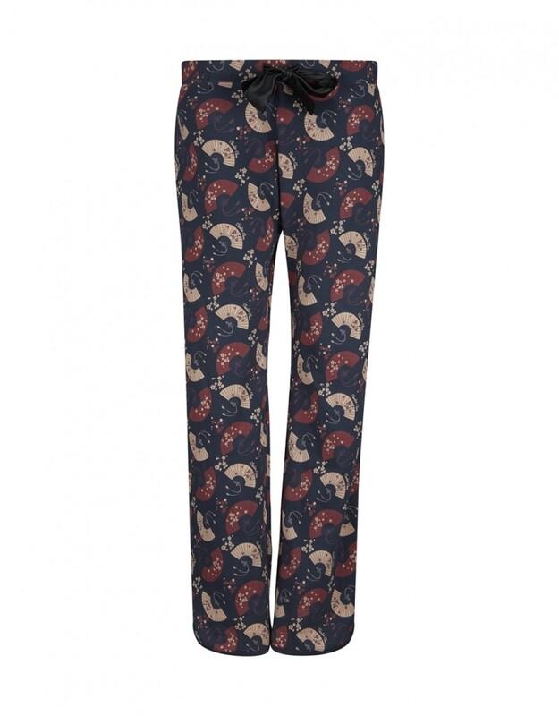 Women pyjama pants D37105-38 Navy Charlie Choe