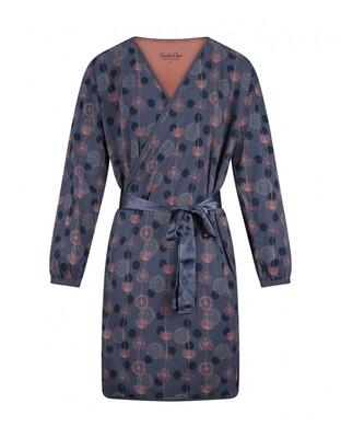 Women bathrobe D37124-38 Mid Blue Charlie Choe