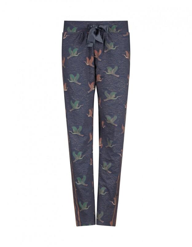 Women homewear pants D37117-38 Mid Blue Charlie Choe