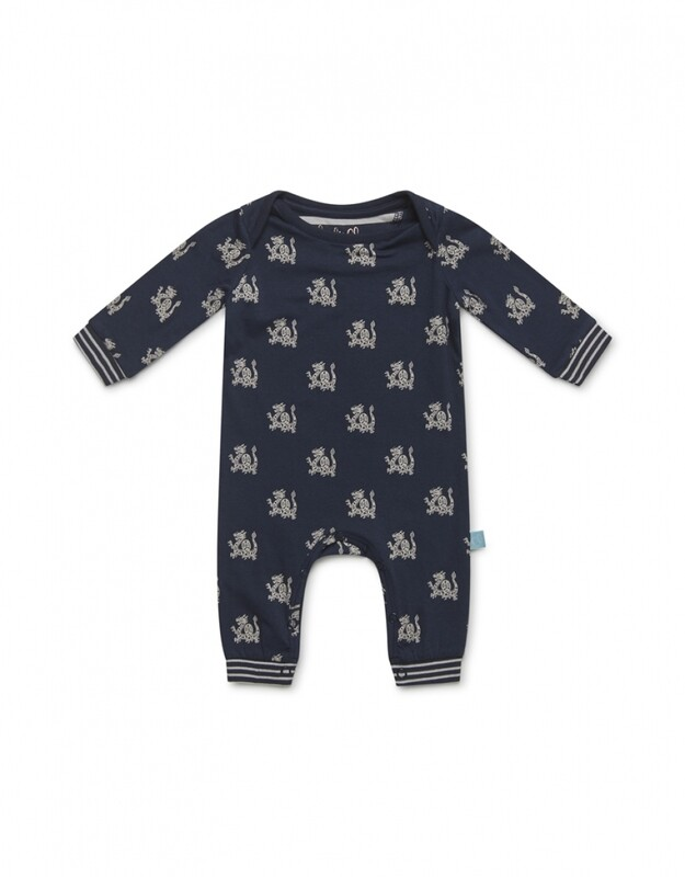 Baby jumpsuit long sleeve D37032-41 Navy Charlie Choe