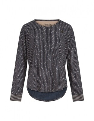Women pullover D37102-38 Navy Charlie Choe