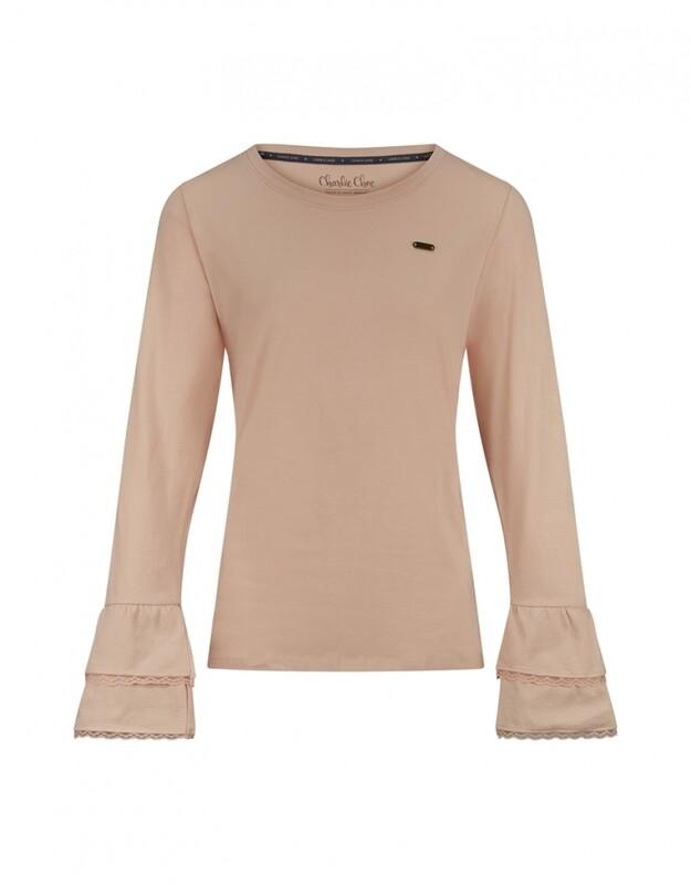 Women T-shirt D37100-38 Soft Pink Charlie Choe