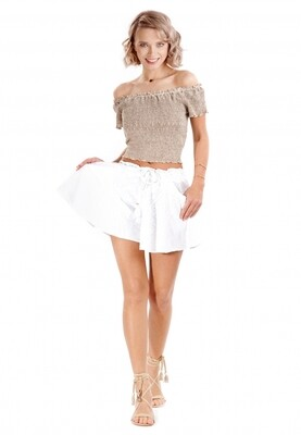 Cropped top IC20-130 Beige Iconique