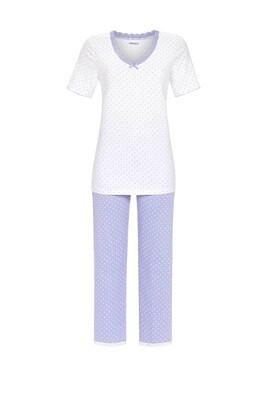 Pyjama met 7/8 broek 1211226 Weiss Ringella Women